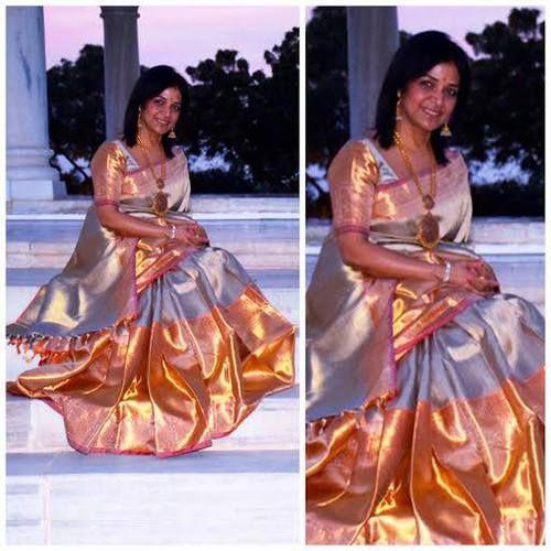 Gaurang Shah Silk Saree