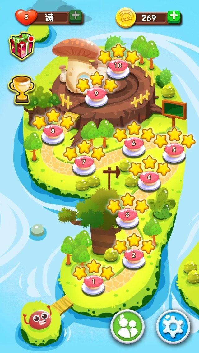 Level map / UI design #game #art