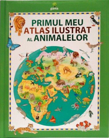 Primul meu atlas ilustrat al animalelor - Primul meu atlas - Cărţi de cultură generală - - Editura Gama