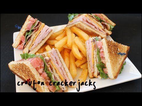 ▶ How to Make Club Sandwiches - Club Sandwich Recipe - YouTube