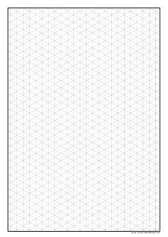 Superior Isometric Paper To Print Out, Isometric Paper Is Good For Drawing Shapes. A  Free Maths Resource From Great Little Minds