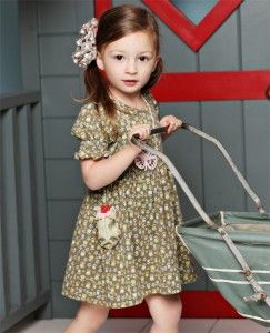 Sugar & Spice Lap dress   (RV $48-50)   sizes 12 months - 8  Serendipity ~ Spring 2012