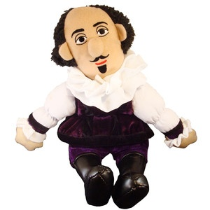 Shakespeare Little Thinker now featured on Fab.