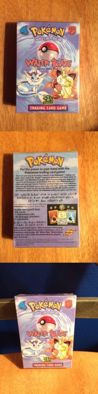 Pok mon Sealed Decks and Kits 183467: Unopened Rare Pokémon Water Blast Jungle Theme Deck -> BUY IT NOW ONLY: $35 on eBay!
