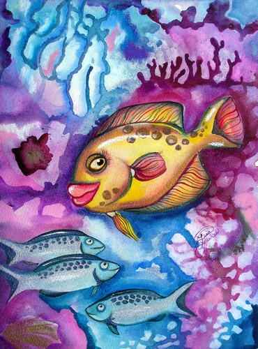 70 best surreal paintings for sale images on pinterest for Fish 2 flirt