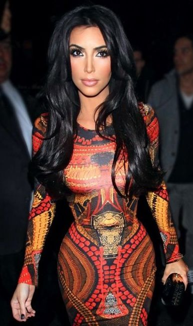 Kim kardashian : beauty : celebrity