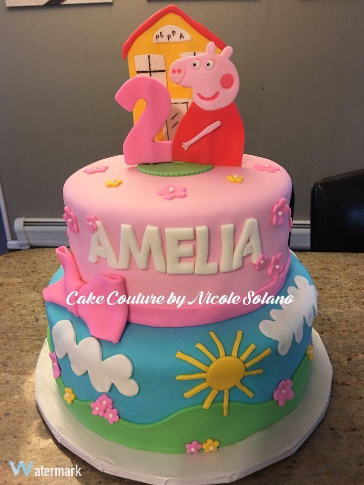 Peppa Pig Cake Pinterest