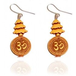 Peace & spirituality when becomes stylish earrings