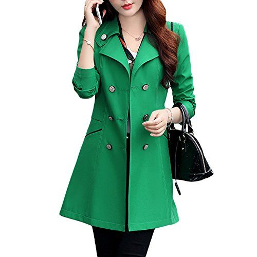 27 best GREEN COATS AND JACKETS images on Pinterest | Trench coats ...