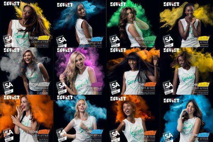 Miss South Africa 2016 finalists Technicolour Soviet Denim Photos revealed
