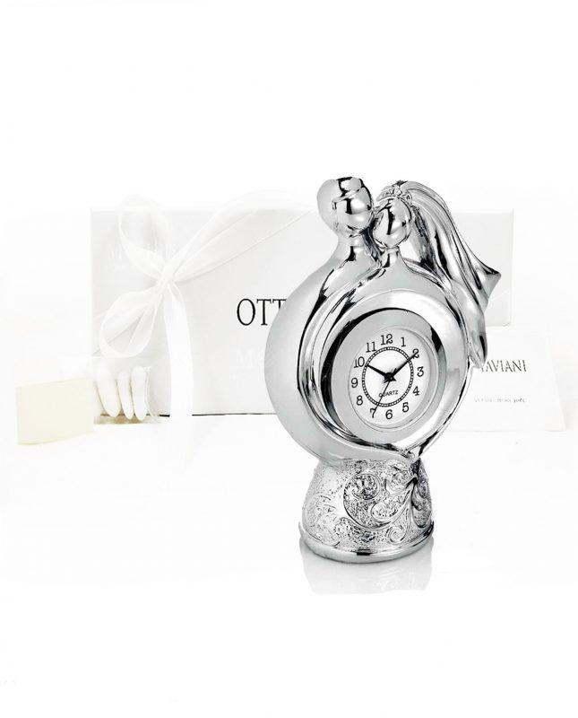 ad57942013a184 Bomboniera orologio coppia sposi l'ora della felicità Ottaviani,la puoi  acquistare presso www
