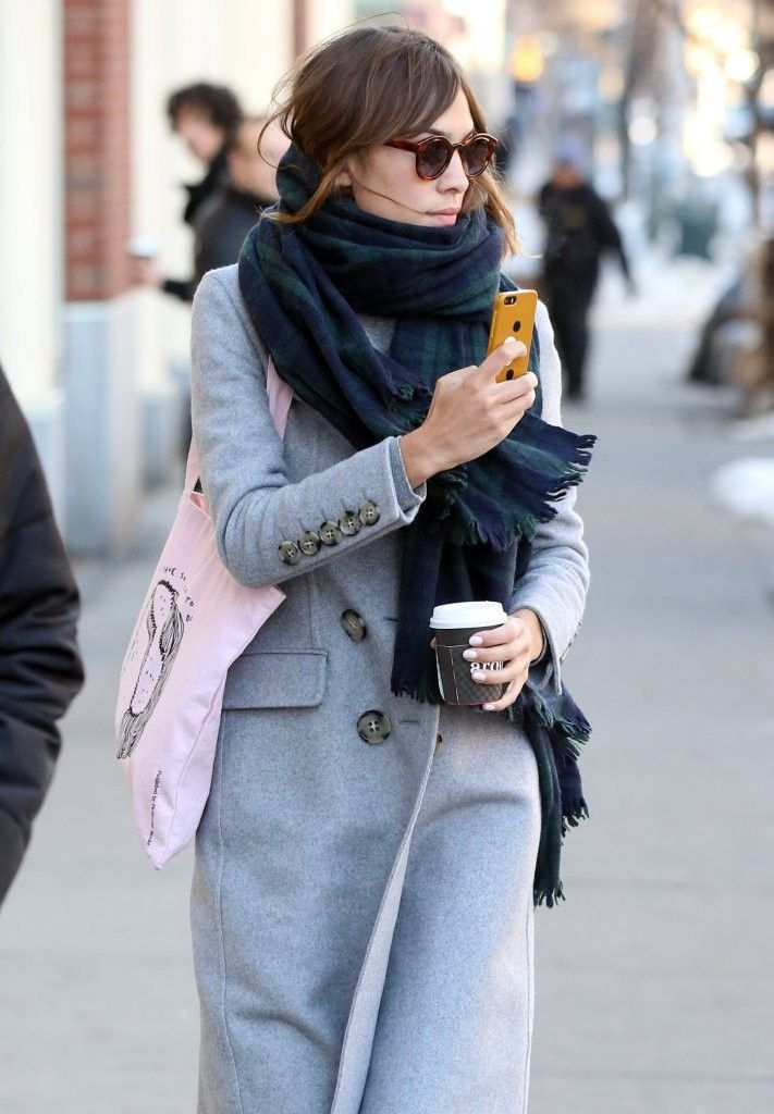 Alexa Chung Photos - Alexa Chung Out and About in NYC - Zimbio