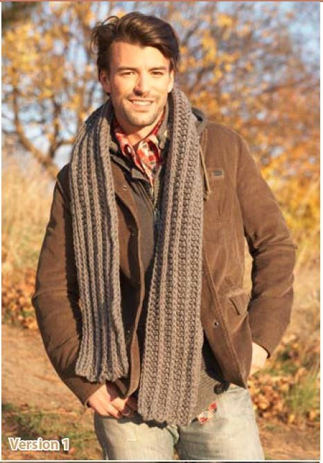Free Crochet Patterns For A Man s Scarf : 1000+ images about Men - Knit & Crochet on Pinterest ...