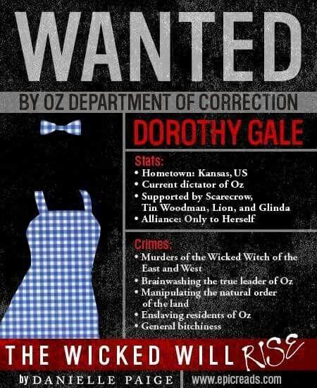 Dorothy Must Die: