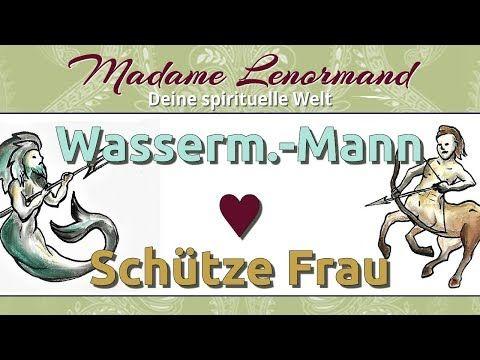 Wassermann Mann & Schütze Frau - YouTube   Wassermann