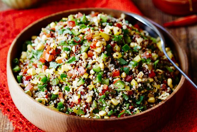 Add some fun to your quinoa. Try our recipe for Mexican Quinoa Salad. It's sure to become a new family favourite!