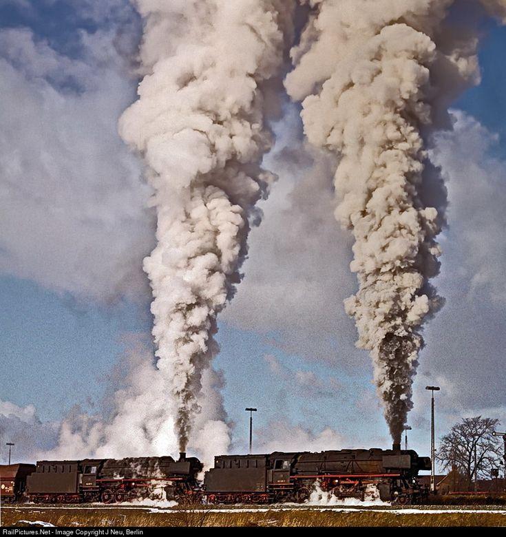 RailPictures.Net Photo: 043 Deutsche Bundesbahn steam 2-10-0 at Emden, Germany by J Neu, Berlin