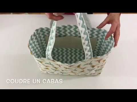 Coudre un cabas Couture Madalena YouTube   videos quilt