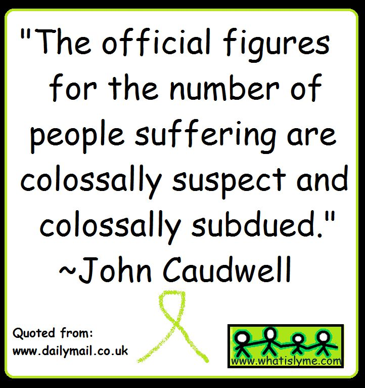 john caudwell, lyme disease