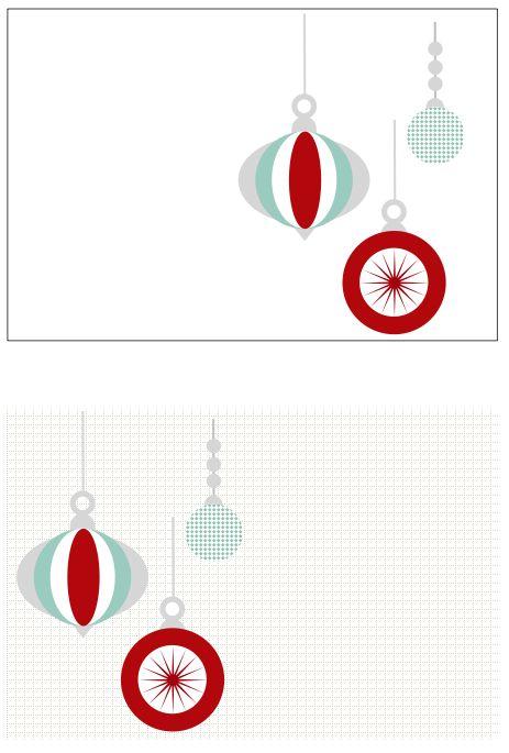"Printable -- Documenting December 2013 -- ""Christmas Ornament"" Journal Cards"