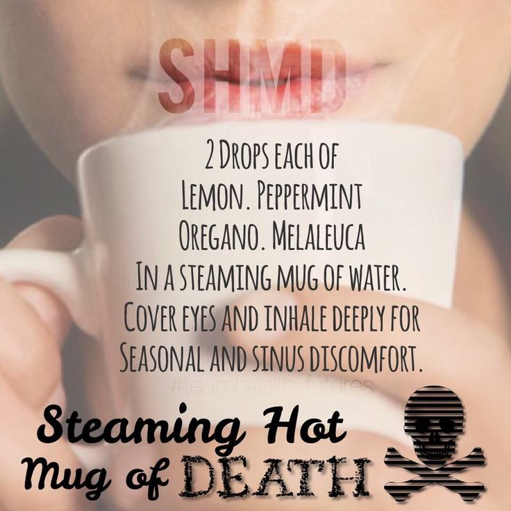 Steaming Hot Mug Of Death Essential Oils Pinterest