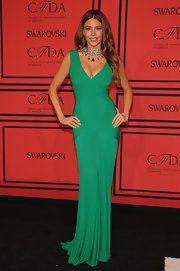 Sofia Vergara Evening Dress