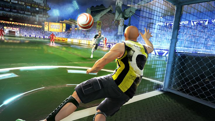 Kinect Sports Rivals Soccer Sports, Netball, World