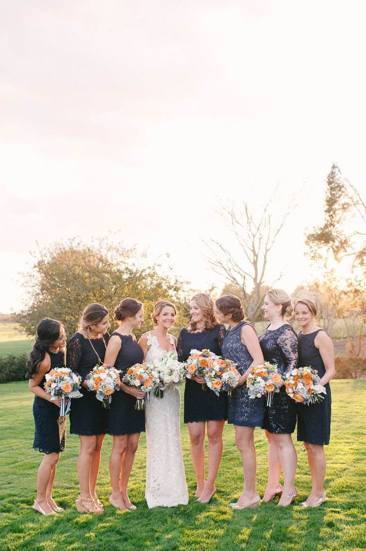 I just love how comfortable each person looks. Photography: Brklyn View Photography - www.brklynview.com  Read More: http://www.stylemepretty.com/2014/06/24/autumn-barn-wedding-in-the-hamptons/