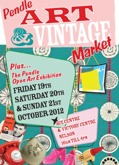 Poster for vintage fair
