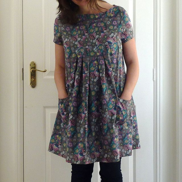 Tunic from Stylish Dress Book 1: view E by angharad handmade, via Flickr