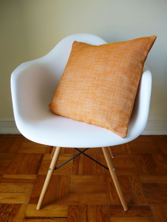 Almofada laranja mescla - 40cmsx40cms