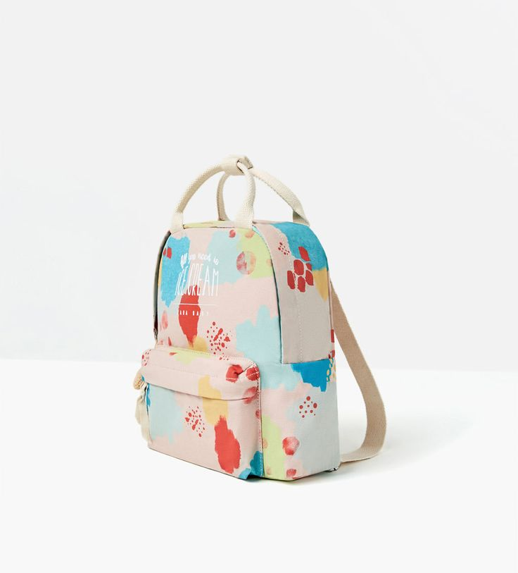 ICE CREAM BACKPACK-SHOES AND BAGS-BABY GIRL | 3 months-4 years-KIDS | ZARA United Kingdom