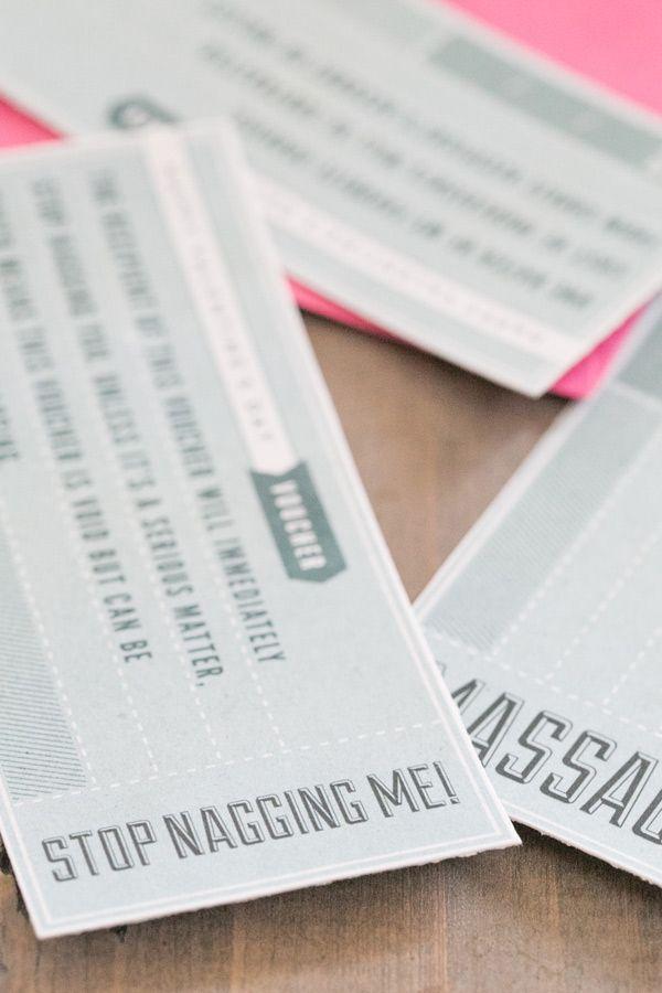 Valentine's Day Printable Vouchers / Valentines DIY / DIY / Easy Entertaining