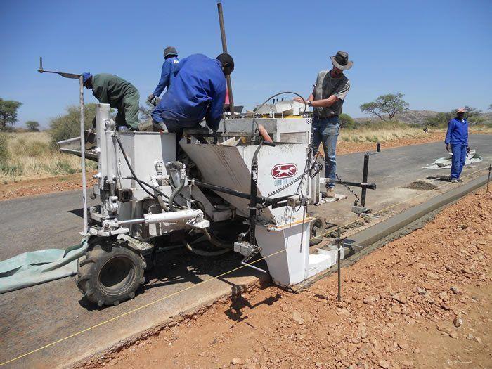 Curb Fox Equipment With Images Concrete Paving Concrete Curbing