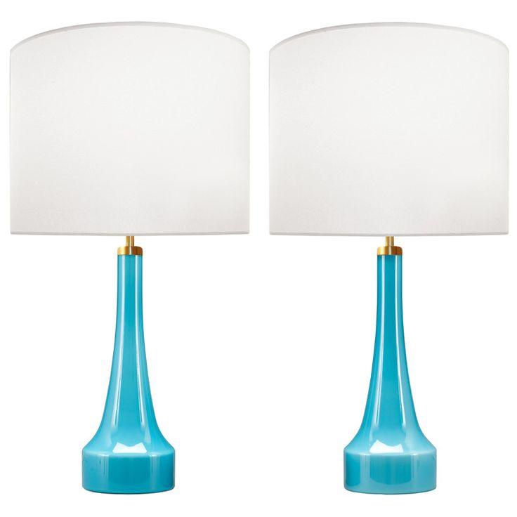Best 25+ Blue glass lamp ideas on Pinterest | Asian light bulbs ...