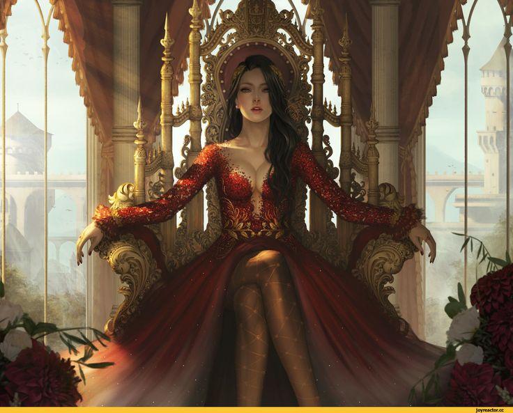Mina reina de los vampiros de la corte