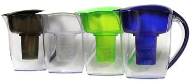Alkaline Water Filtration Pitchers from Santevia