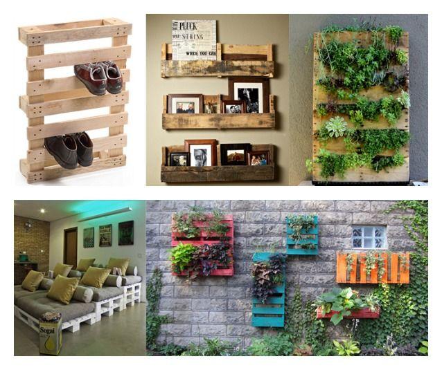 Come arredare con i #pallet: 10 modi per riciclare i bancali di legno | Design Fanpage