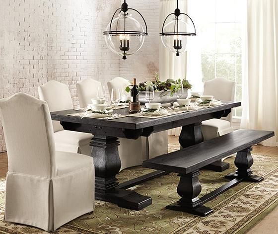 Charming Aldridge Extendable Dining Table