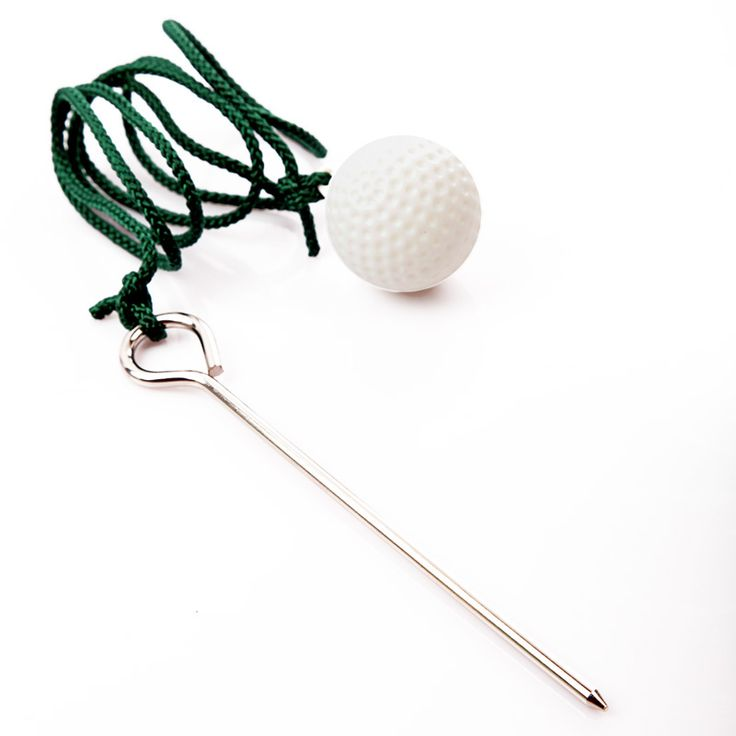 A99 Golf Fly Rope Ball I (2 pcs) Rope Golf Driving Ball Swing Hit Shot Sport Practice Training Train Aid