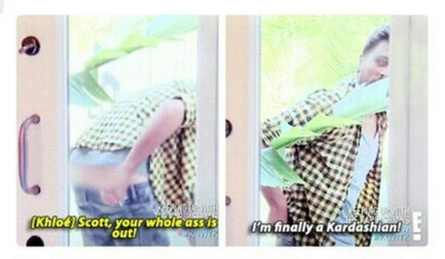 And this quip. | 32 Times Scott Disick Just Didn't Give A F*ck