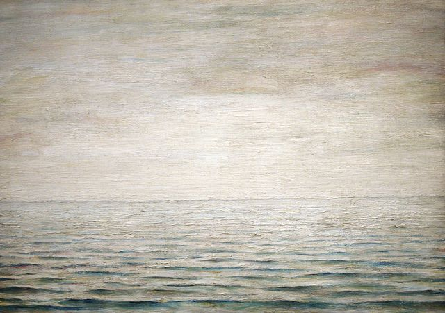 LS Lowry's The Sea from 1963, housed in Manchester's Lowry Museum in MediaCityUK, Manchester.  My favorite ever painting.