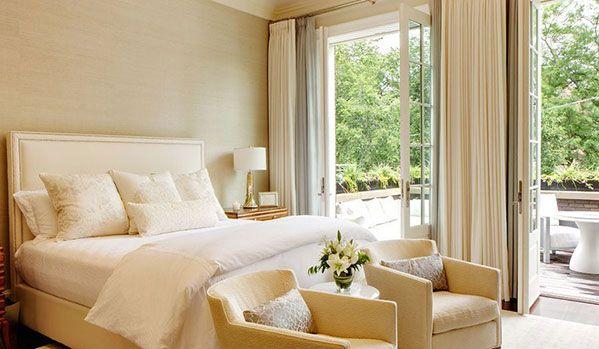 20 fotos e ideas para decorar un dormitorio con colores neutros.   Mil Ideas de Decoración