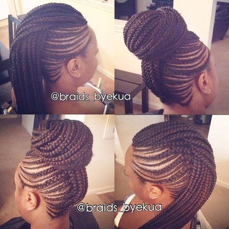 Braided Mohawk #braidsbyekua #braidsbyekuafauxhawks #atlantabraider EMAIL IN BIO ABOVE