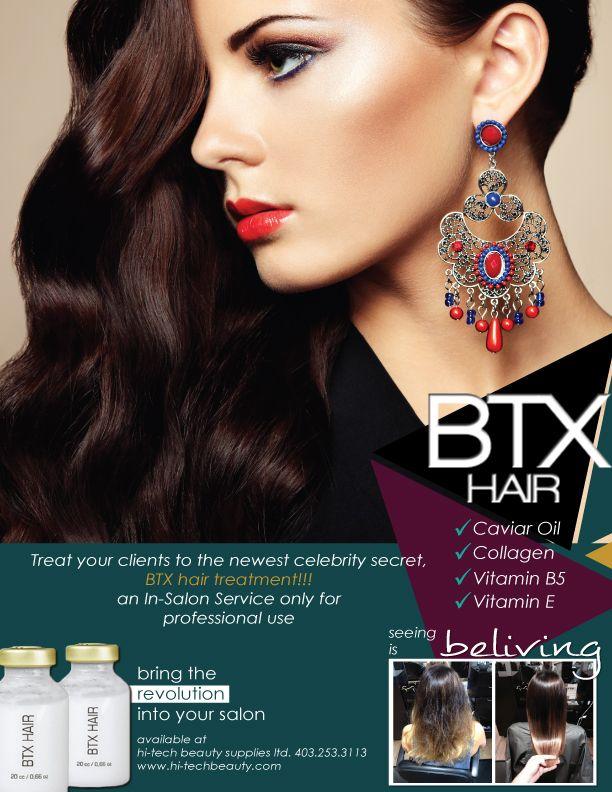 BTX Hair.... Bring the revolution into your salon!!!!