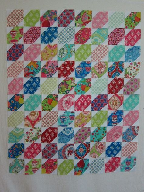 Easy quilt from charms!  Trade Winds and Stars Quilt from Moda Bake Shop