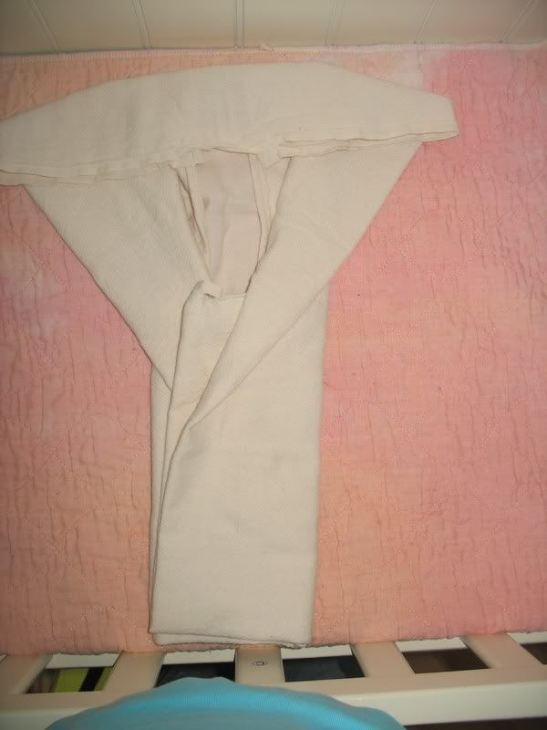 Adult cloth diaper flat