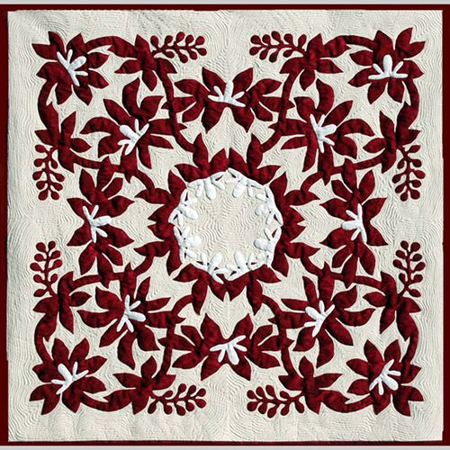 23 best Quilting - Hawaiian Quilts images on Pinterest | Hawaiian ... : hawaiian quilt kit - Adamdwight.com