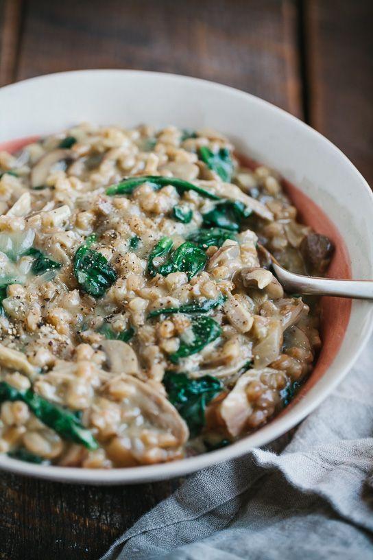 Wild Mushroom Farro Risotto | Recipe | The o'jays, Risotto ...