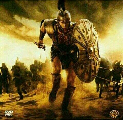"""Aquiles, héroe de la guerra de Troya, hijo de Peleo y Tetis, conocido como """"el de los pies ligeros"""" MGriega"""